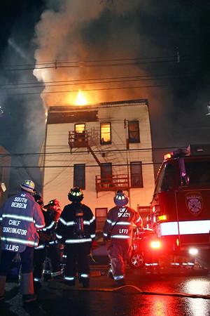 Passaic 5th alarm 37 Columbia Ave 5-3-15
