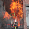 Boston, MA - 9th Alarm, 298 Beacon Street, 3-26-14 : Just after 2:30 P.M. Boston fire alarm transmitted Box 1579 for a building fire at 298 Beacon Street. Engine 33 was first to arrive and reported smoke showing from a four story brick OMD. Companies rescued occupants from the upper floors while Engine 33 advanced a line to the basement. Conditions quickly deteriorated trapping two members from Engine 33. Firefighter Michael Kennedy was removed from the basement and transported to a local hospital where he succumbed to his injuries. The body of Lieutenant Ed Walsh was recovered several hours later. These images are shown here to document the fire and to honor the sacrifice made by these two heroes. In over 12 years of photographing fire and emergency scenes this was the toughest scene that I have ever encountered to photograph. Due to the nature of the incident these images will not be for sale. RIP Brothers.