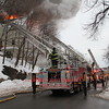 Malden, MA - 2nd Alarm, 468 Salem Street, 2-7-15 : Firefighters had heavy fire conditions in this wood frame OMD. An extra engine and two extra ladders were special called above the second alarm.