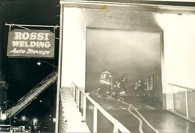 9.21.1980 - 316 Franklin Street, Rossi Welding Auto Storage