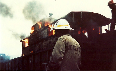 7.1984 - Conrail Yard off Spring Street