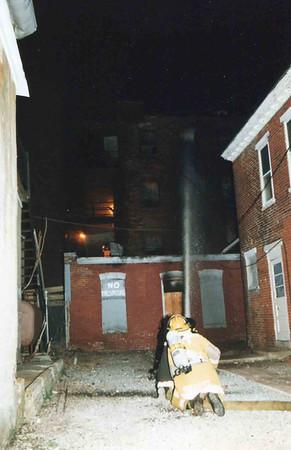 March 25, 1995, 2nd Alarm Box 428, Reading Box Company, 241 Cedar Street, 15 (taken by Tony Miccicke)