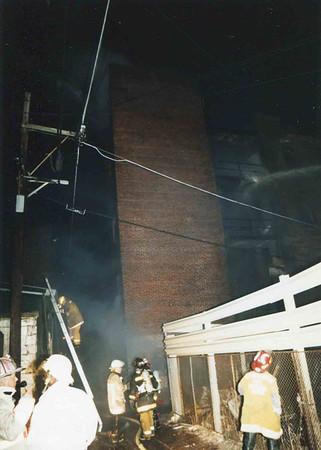 March 25, 1995, 2nd Alarm Box 428, Reading Box Company, 241 Cedar Street, 12 (taken by Tony Miccicke)