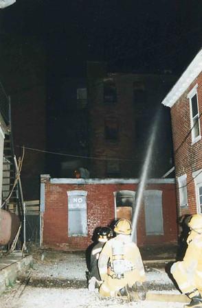 March 25, 1995, 2nd Alarm Box 428, Reading Box Company, 241 Cedar Street, 11 (taken by Tony Miccicke)