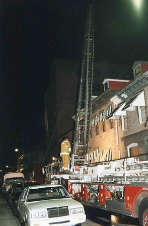 March 25, 1995, 2nd Alarm Box 428, Reading Box Company, 241 Cedar Street, 7 (taken by Tony Miccicke)