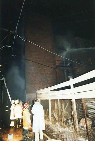 March 25, 1995, 2nd Alarm Box 428, Reading Box Company, 241 Cedar Street, 14 (taken by Tony Miccicke)