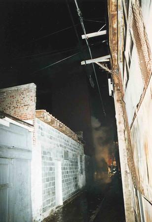 March 25, 1995, 2nd Alarm Box 428, Reading Box Company, 241 Cedar Street, 5 (taken by Tony Miccicke)