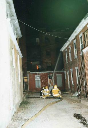 March 25, 1995, 2nd Alarm Box 428, Reading Box Company, 241 Cedar Street, 10 (taken by Tony Miccicke)