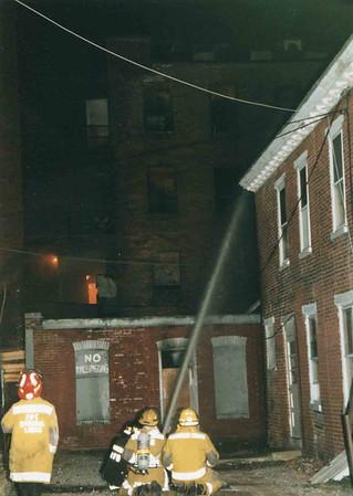 March 25, 1995, 2nd Alarm Box 428, Reading Box Company, 241 Cedar Street, 9 (taken by Tony Miccicke)
