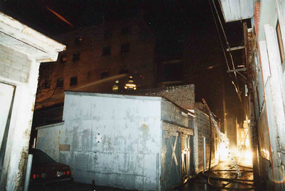 March 25, 1995, 2nd Alarm Box 428, Reading Box Company, 241 Cedar Street, 1 (taken by Tony Miccicke)