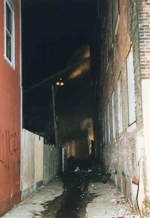 March 25, 1995, 2nd Alarm Box 428, Reading Box Company, 241 Cedar Street, 8 (taken by Tony Miccicke)