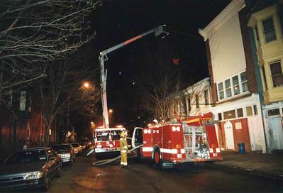 March 25, 1995, 2nd Alarm Box 428, Reading Box Company, 241 Cedar Street, 2 (taken by Tony Miccicke)
