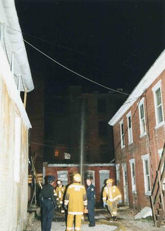 March 25, 1995, 2nd Alarm Box 428, Reading Box Company, 241 Cedar Street, 4 (taken by Tony Miccicke)