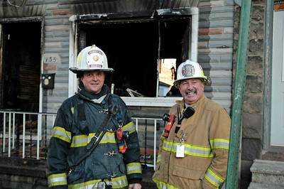2nd Deputy Chief Steve Serba & Fire Chief Kevin Kulp. Photo by Anthony Miccicke