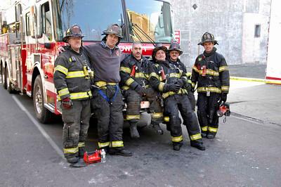 Dave Kochel, Andrew Kutz, Ron Banks, John Dondore, John Diehm, Lt. Brian Thorpe. Photo by Anthony Miccicke