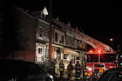 Reading Eagle: Lauren A. Little November 12, 2012 Mulberry St Fire  Fire in the 1300 block of Mulberry Street Monday night.