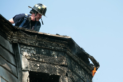 Mineral Springs Road fire