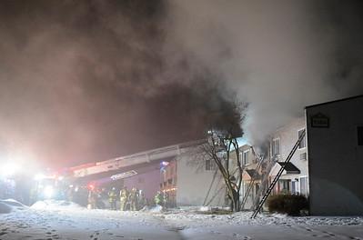 Lincoln Park Apts Fire