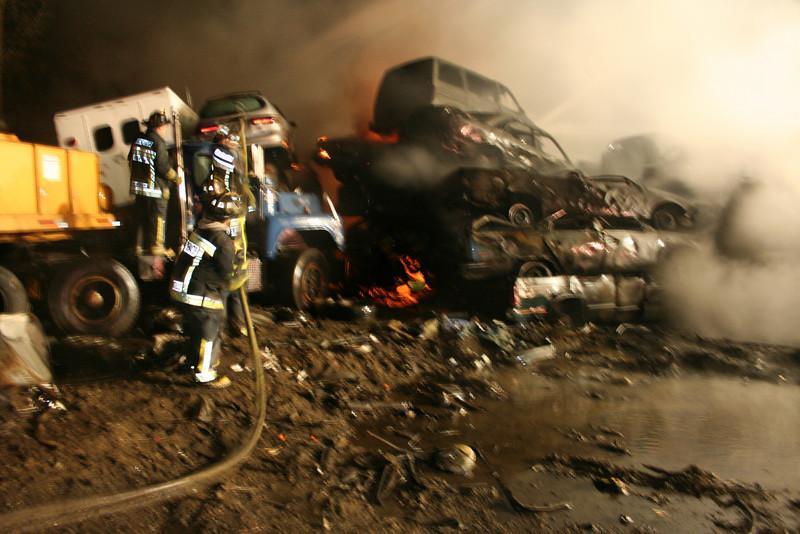 Junkyard Fire 213
