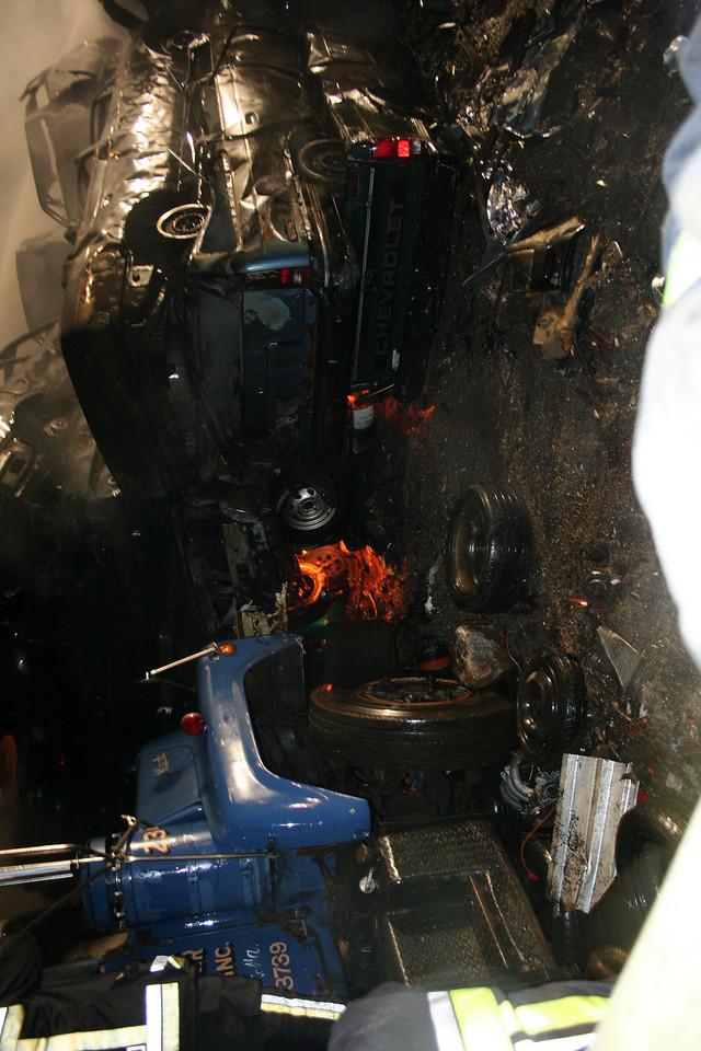 Junkyard Fire 216