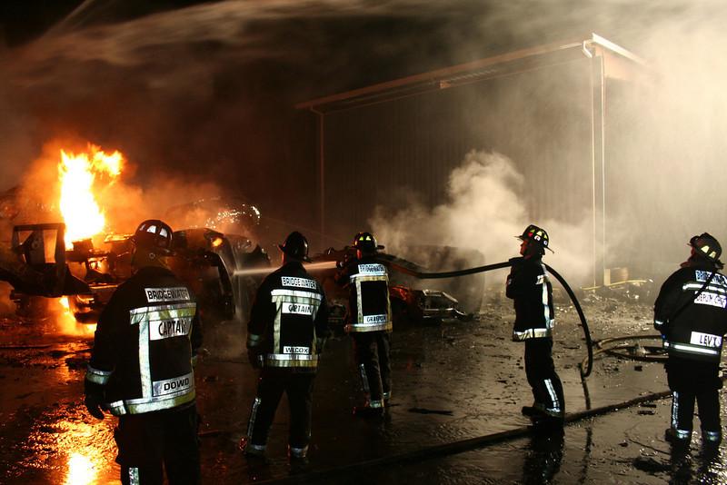 Junkyard Fire 236