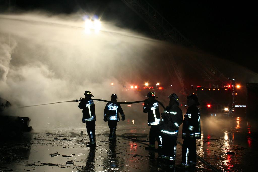 Junkyard Fire 230