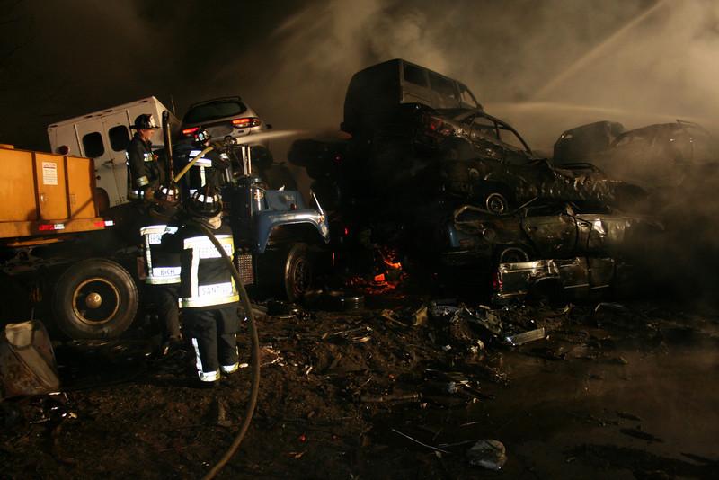 Junkyard Fire 215