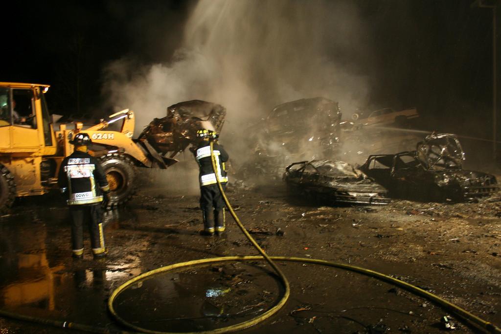 Junkyard Fire 211
