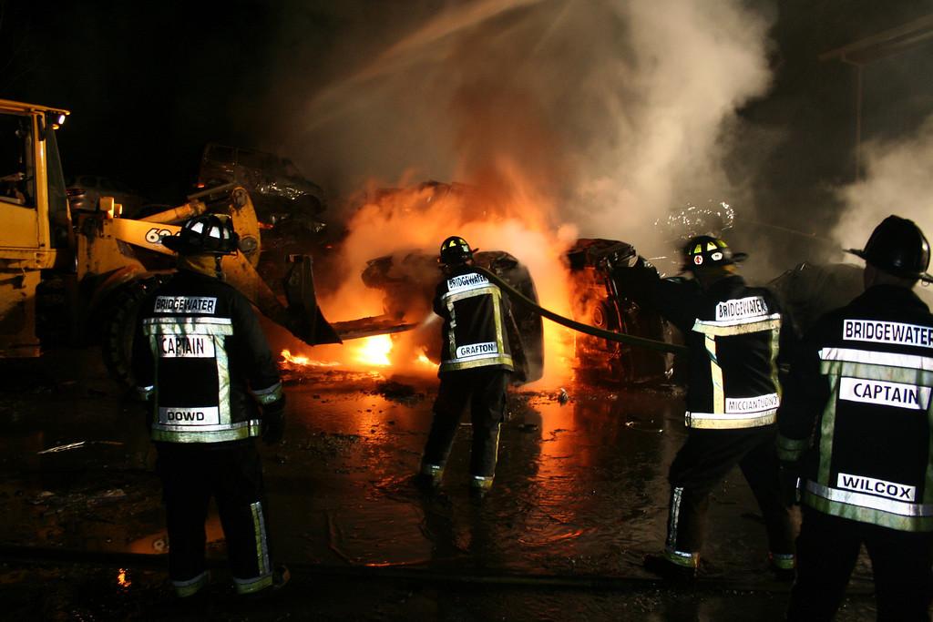 Junkyard Fire 240