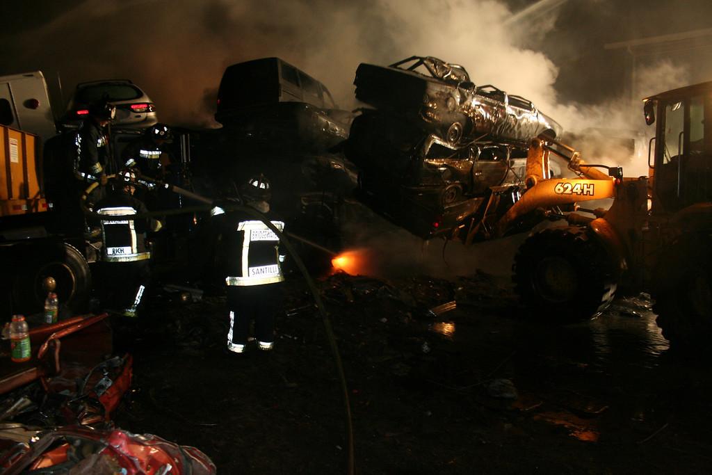 Junkyard Fire 220