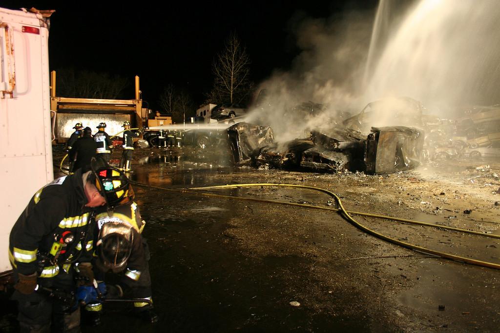 Junkyard Fire 255