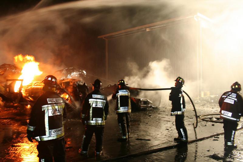 Junkyard Fire 235