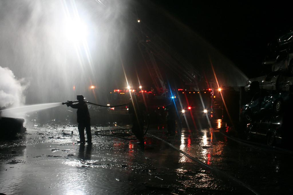 Junkyard Fire 225