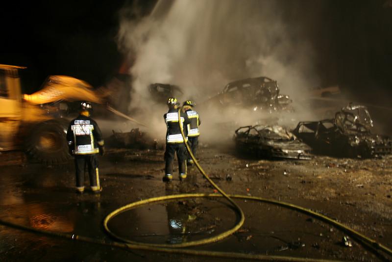 Junkyard Fire 210