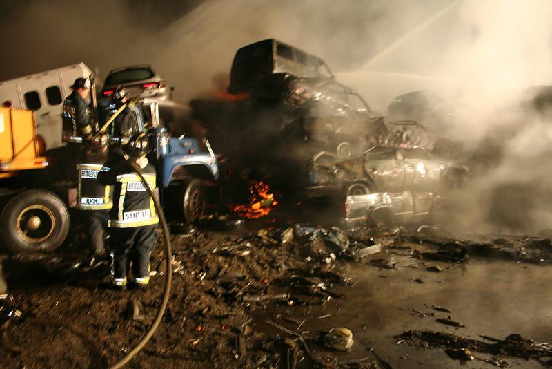 Junkyard Fire 214