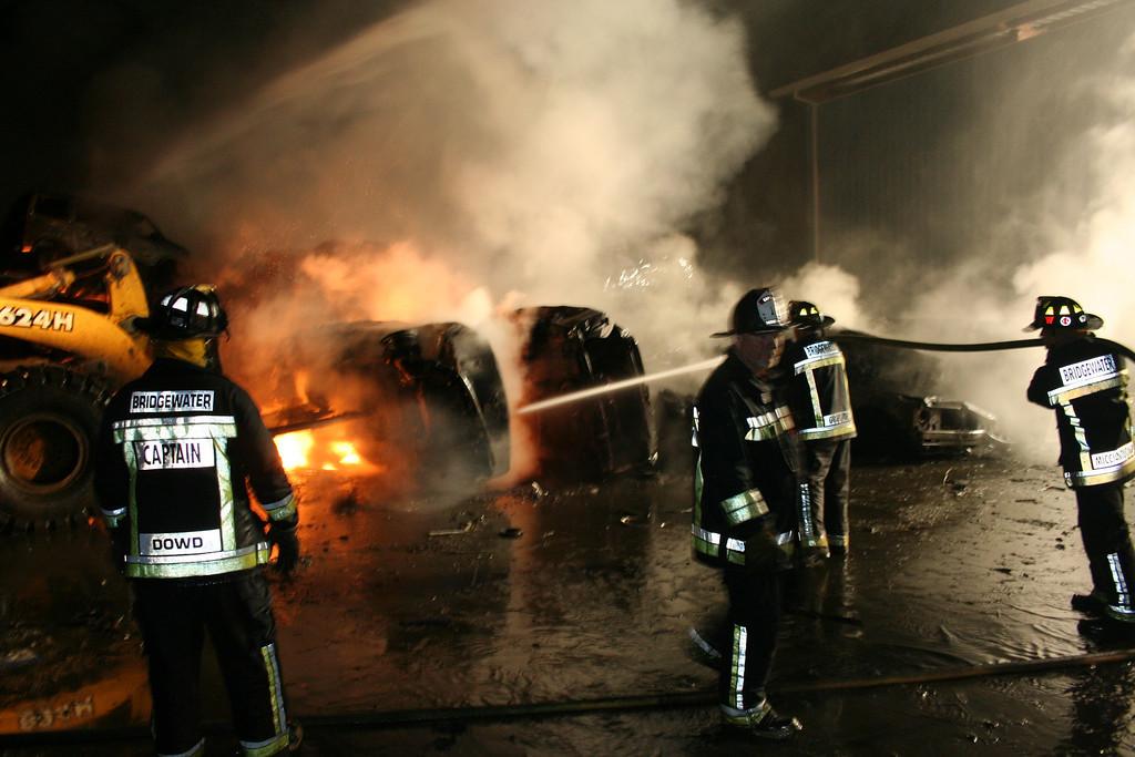 Junkyard Fire 238