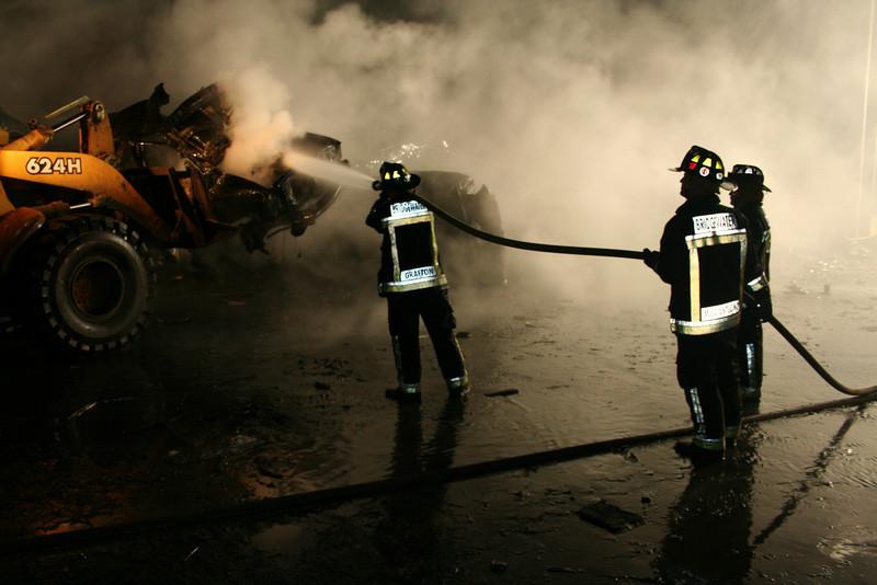 Junkyard Fire 245