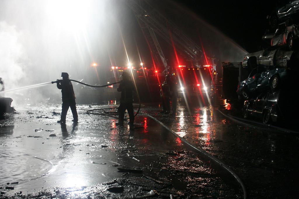 Junkyard Fire 226