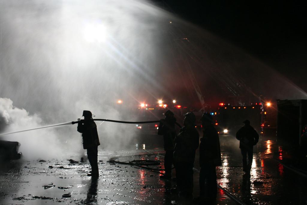 Junkyard Fire 231