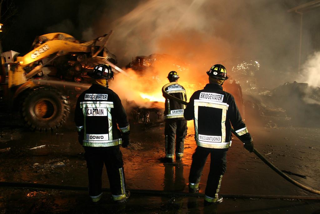 Junkyard Fire 243