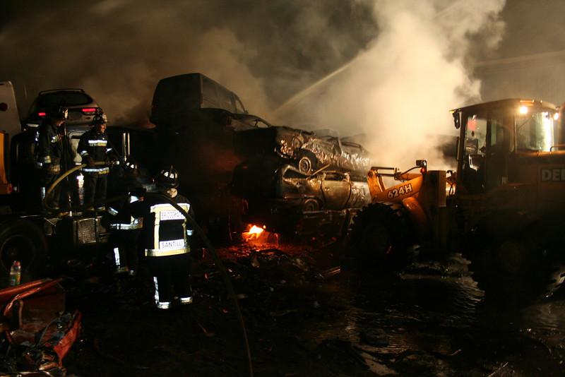 Junkyard Fire 219