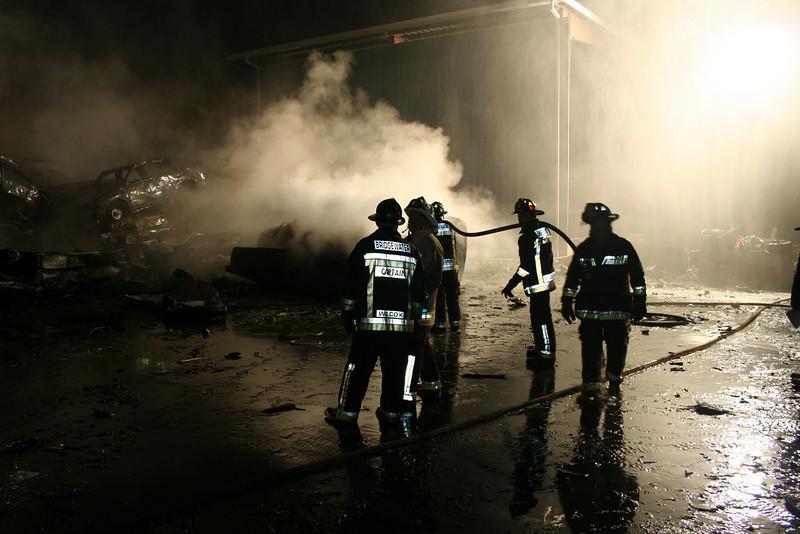 Junkyard Fire 232