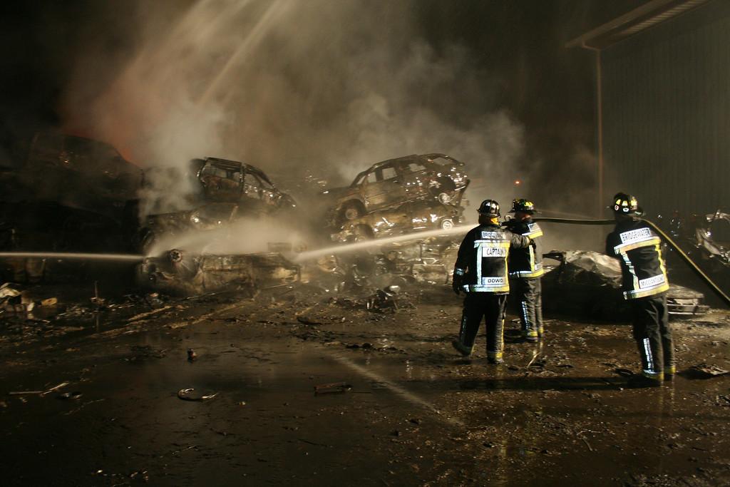 Junkyard Fire 212