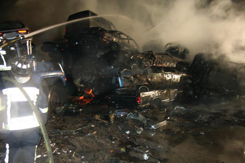 Junkyard Fire 218
