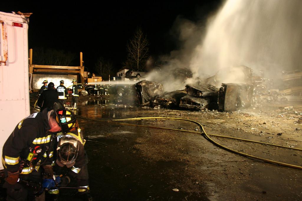 Junkyard Fire 254