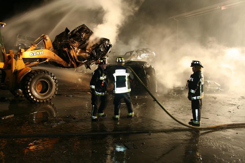 Junkyard Fire 247