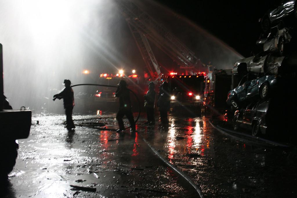 Junkyard Fire 227