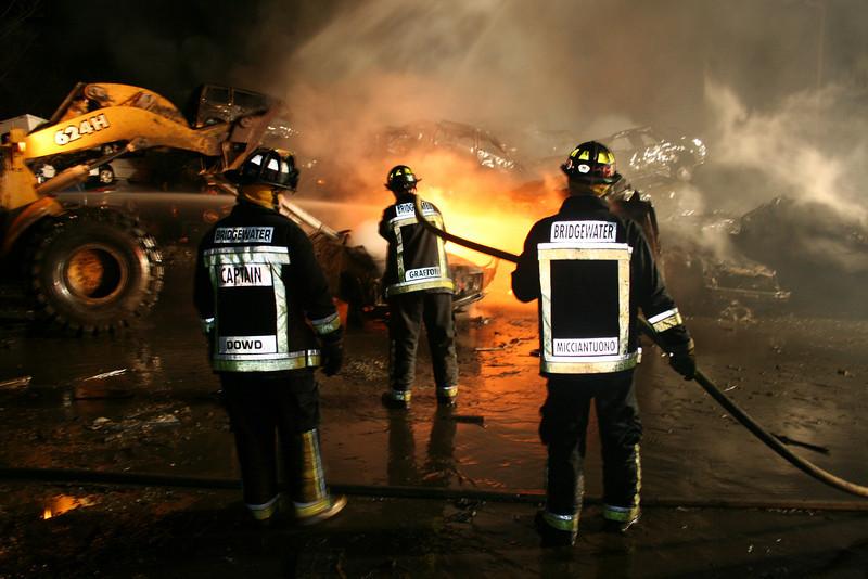 Junkyard Fire 244
