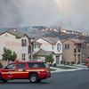 LACoFD NorthFire BN 20 on West Hills Dr. Santa Clarita, CA.