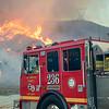 LACoFD NorthFire Engine 236 on West Hills Dr. Santa Clarita, CA.